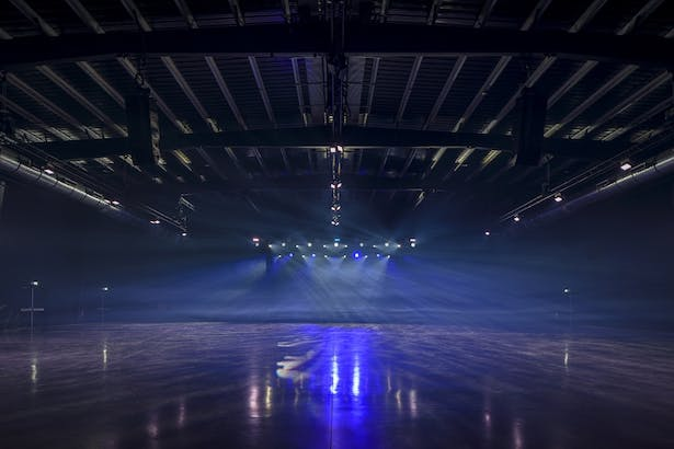 Space2 offers a blank canvas for shows and events