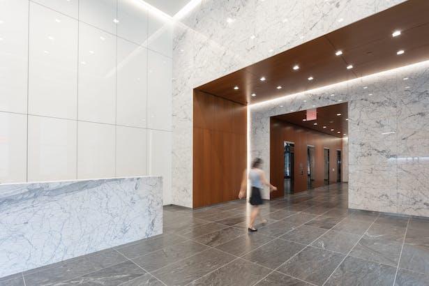 New Portal to Elevator Lobby