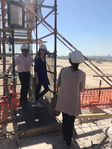 3 Years ago today I won the contract for a mixed-use high-rise residential building - unlimited height category. This was our first site visit with the client representative…