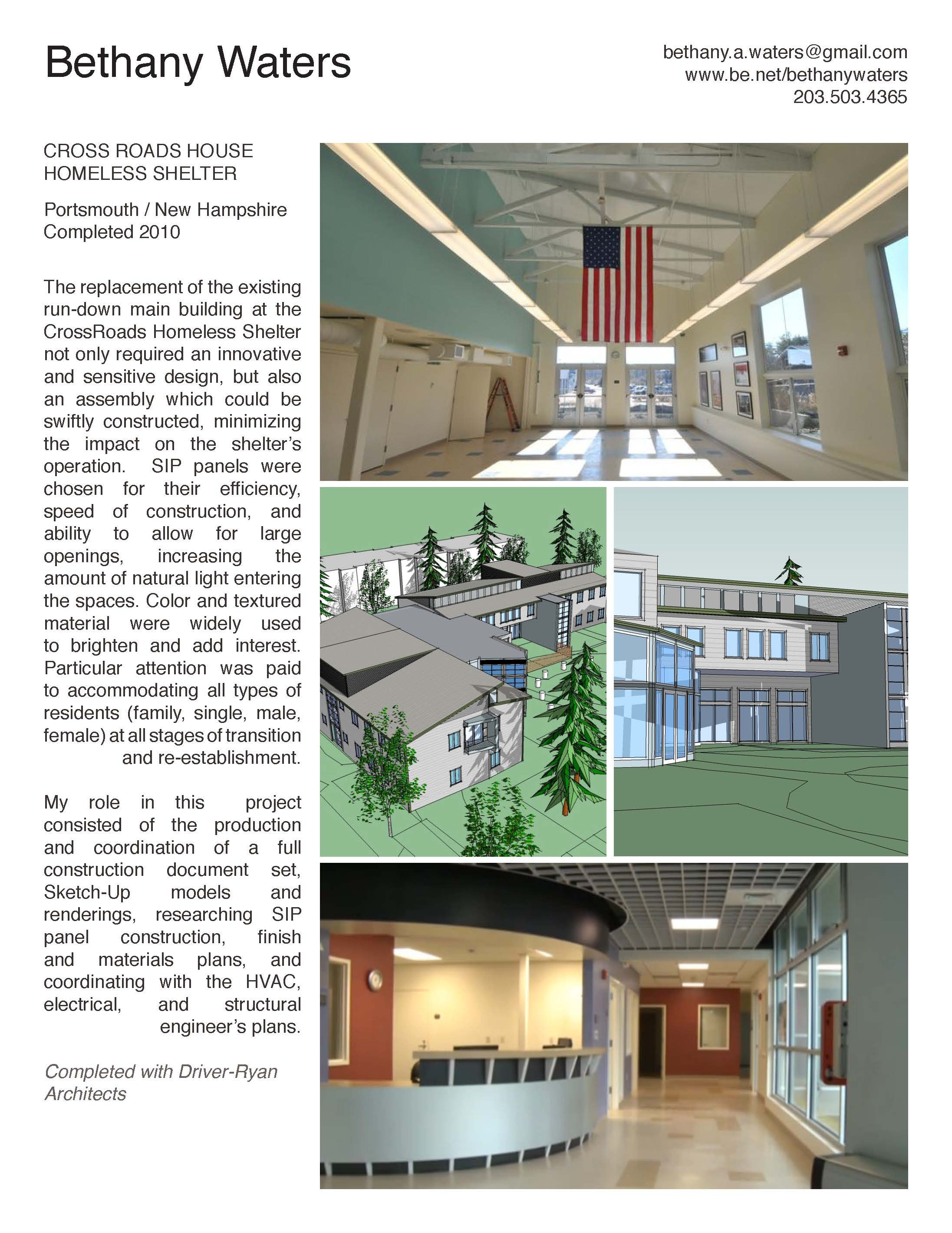 crossroads house homeless shelter bethany waters archinect rh archinect com