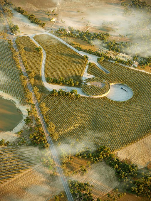 OVERALL WINNER​: Winery in Alentejo by Jacinto Monteiro, also won another honorable mention in the EXTERIOR AWARD category