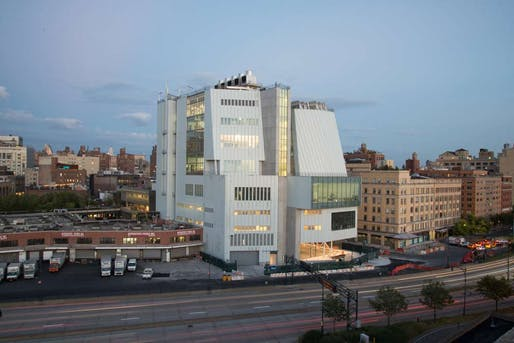 Whitney Museum of American Art, photograph by Timothy Schenck (via theartnewspaper.com)