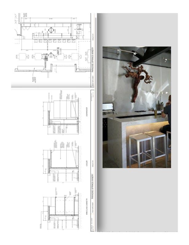 Santa Barbara Funk Zone Cabinetry Sections
