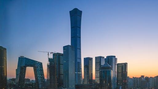 Beijing skyline. Photo by Magda Ehlers from Pexels