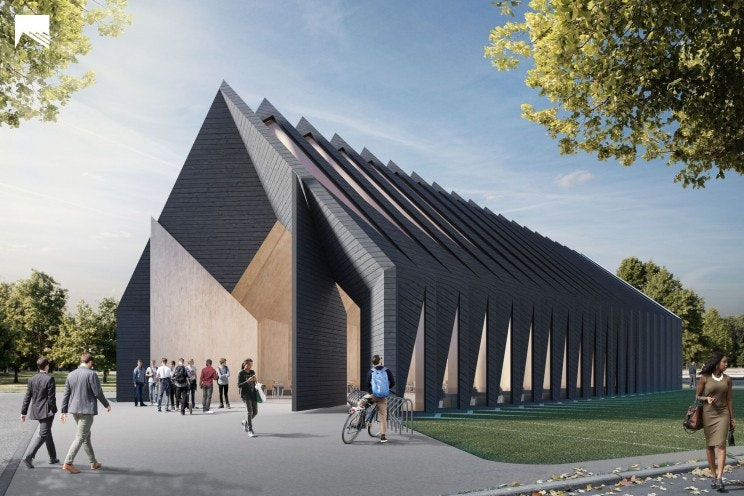 MIT's mass timber longhouse is more sustainable than concrete