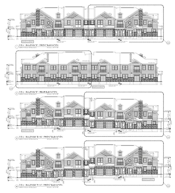 Manor Home Elevations