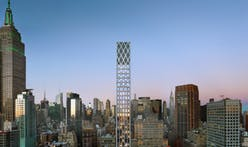 Lattice-topped spire designed by Morris Adjmi nears completion in New York City
