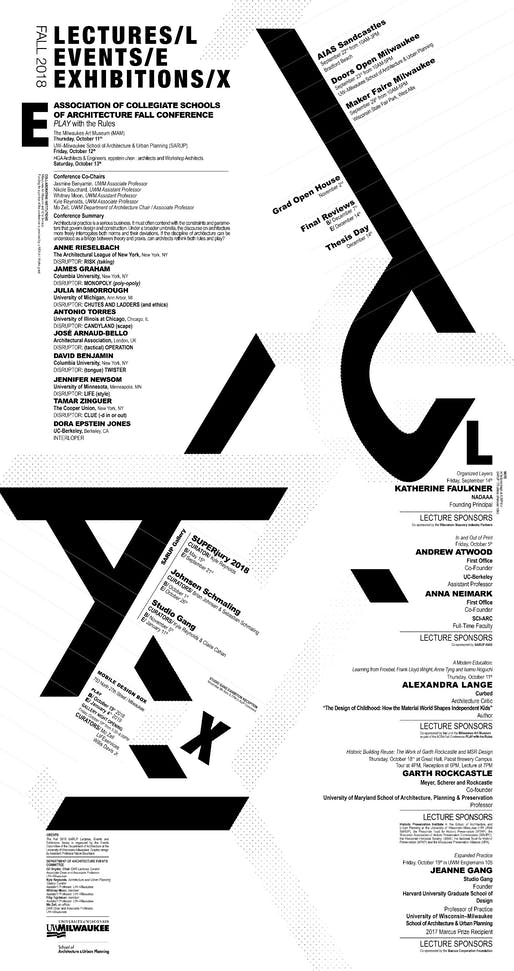 Poster design by UWM SARUP Assistant Professor Nikole Bouchard.