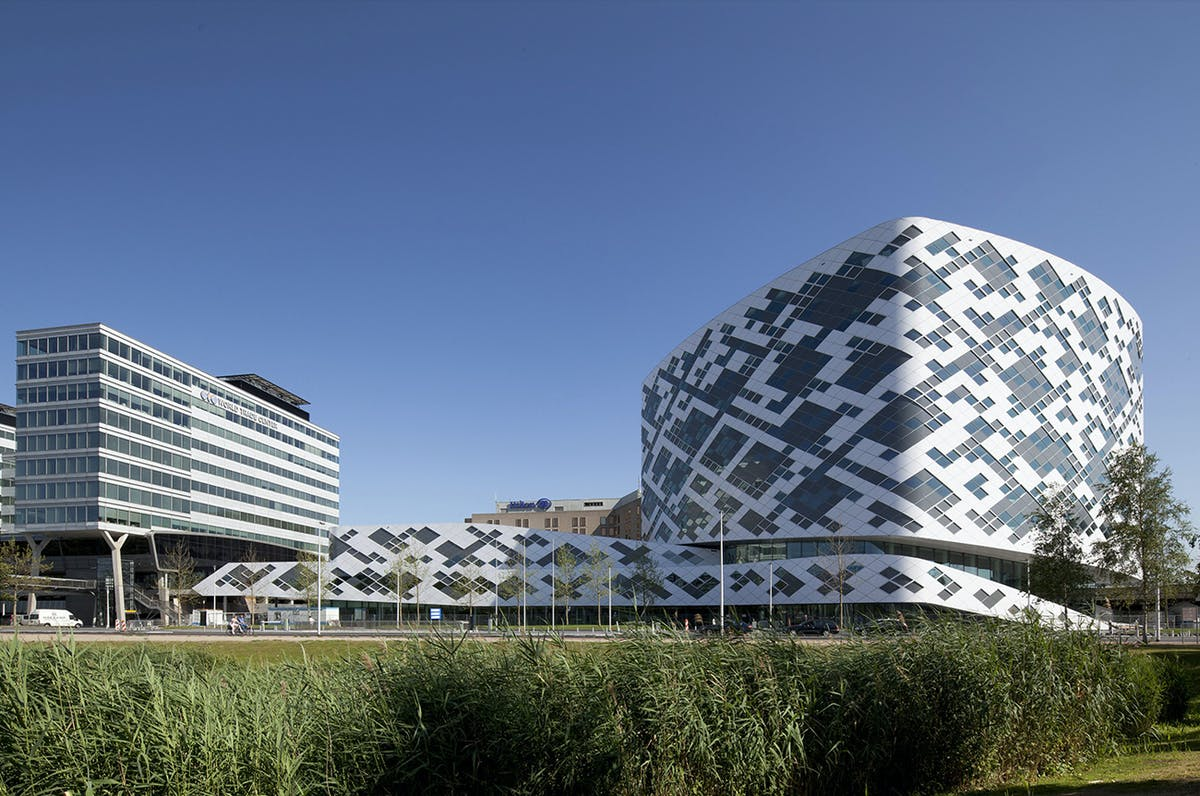 Hilton amsterdam airport schiphol mecanoo archinect for Cubic hotel london
