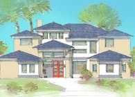 Transitional Custom Home