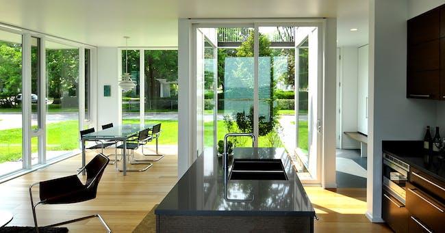 OS House; Racine, WI by Johnsen Schmaling Architects (Photo: John J. Macaulay)