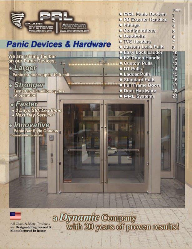 Glass Door Panic Device Catalog