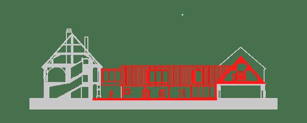 Section B-B Public Atelier, FUUZE