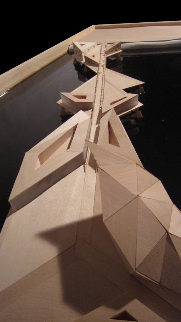 Urbanized Bridge 2-Hand Made-24'x 48'