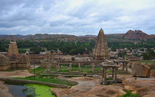 Virupaksha Temple from Hemakuta Hill