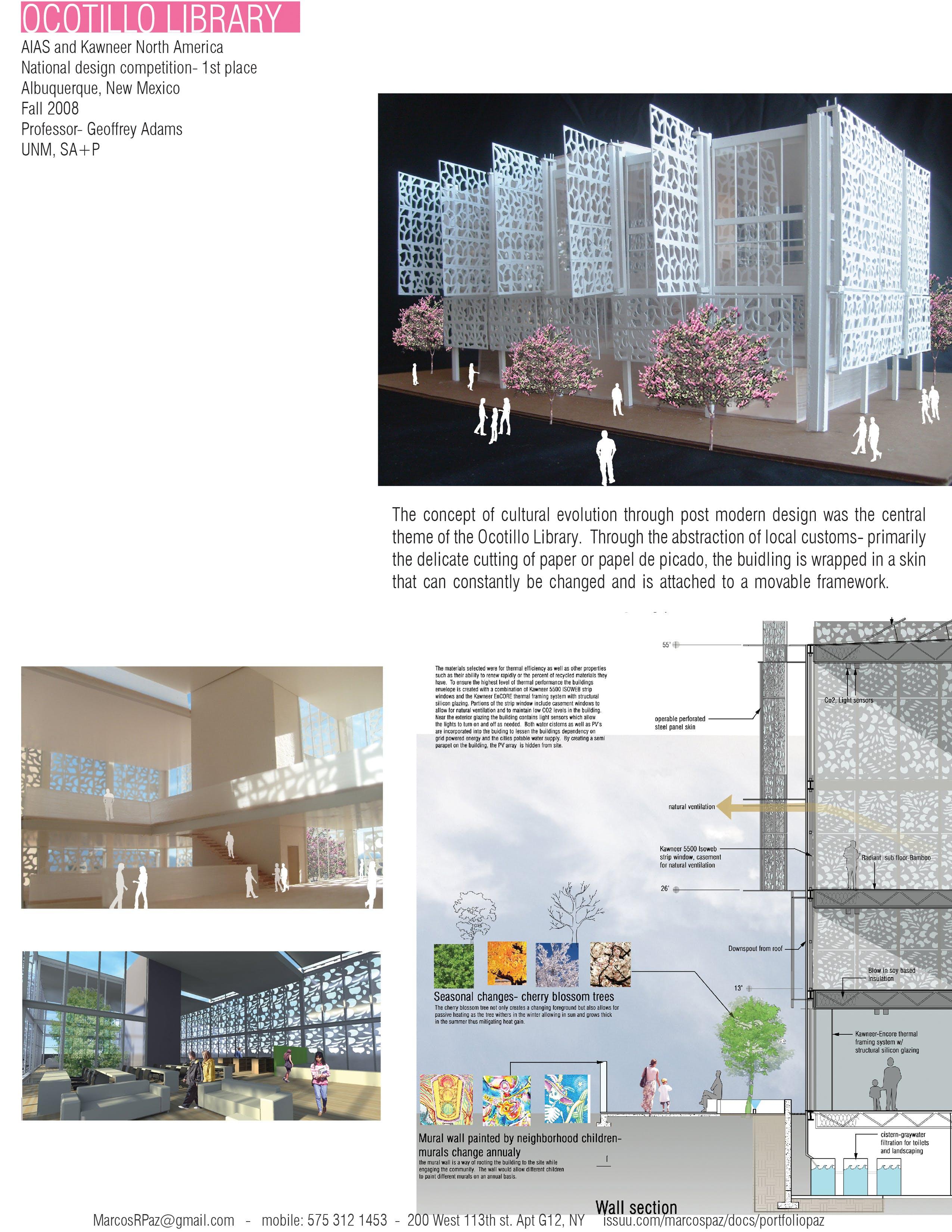Ocotillo ABQ | Mark Paz | Archinect
