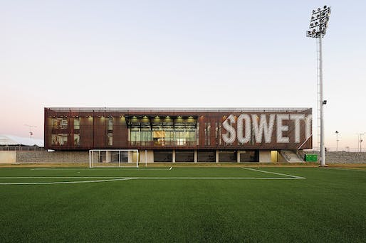 Shortlisted: Football Training Centre in Soweto by RUFproject