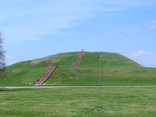 View of the Monk's Mound in Illinois, part of the proposed national park. Image courtesy of WIkimedia user Skubasteve834.