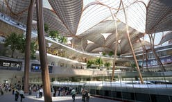 Grimshaw's mangrove tree-inspired design proposal wins international Shenzhen airport and transport hub competition