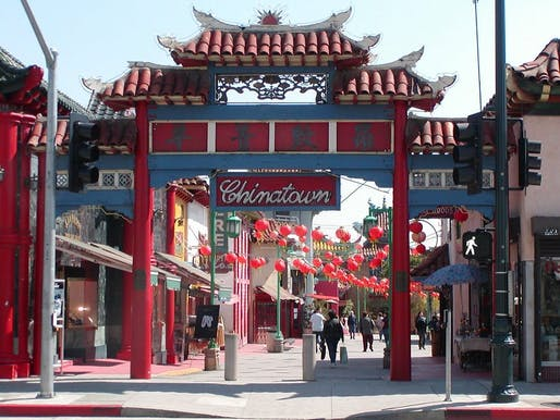 Chinatown LA. Photo by flickr user Raymond Yu