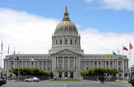 San Francisco City Hall, Image courtesy of Wikimedia user Cabe6403