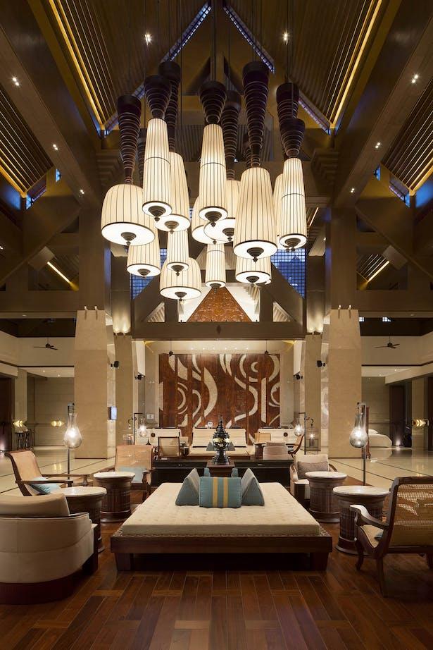YANG杨邦胜_云南西双版纳喜来登度假酒店-大堂(Sheraton Xishuangbanna Resort Hotel)