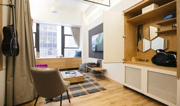 WeLive, WeWork's co-living venture, opens for beta testing in New York City