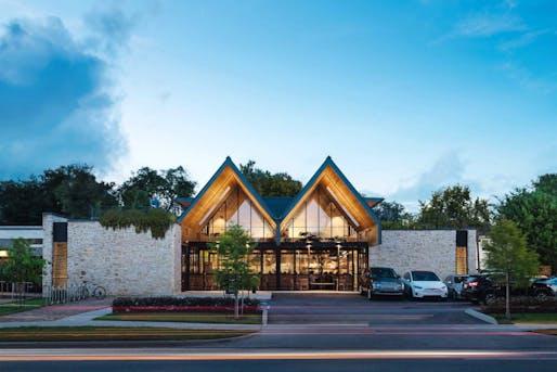 Merit Award, Restaurant: Westheimer Restaurant (Houston, Texas.) Designed by: A Parallel Architecture. Photo: Chase Daniel.