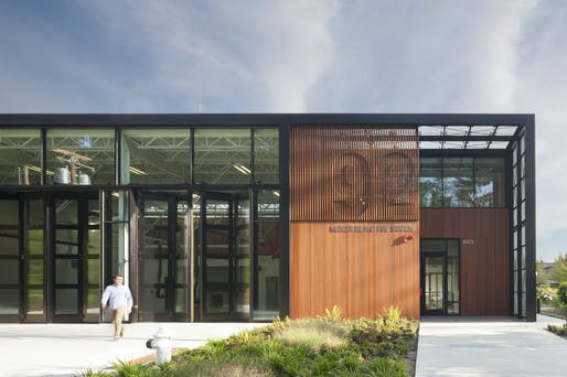 Mercer Island Fire Station 92 by The Miller Hull Partnership.
