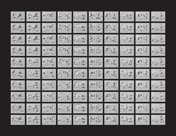 RZLBD 100 Light-Traps (Matrix)