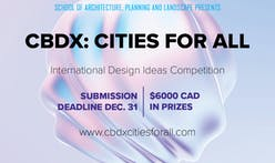 "The University of Calgary School of Architecture, Planning and Landscape is proud to announce the ""CBDX: CITIES FOR ALL"" competition"