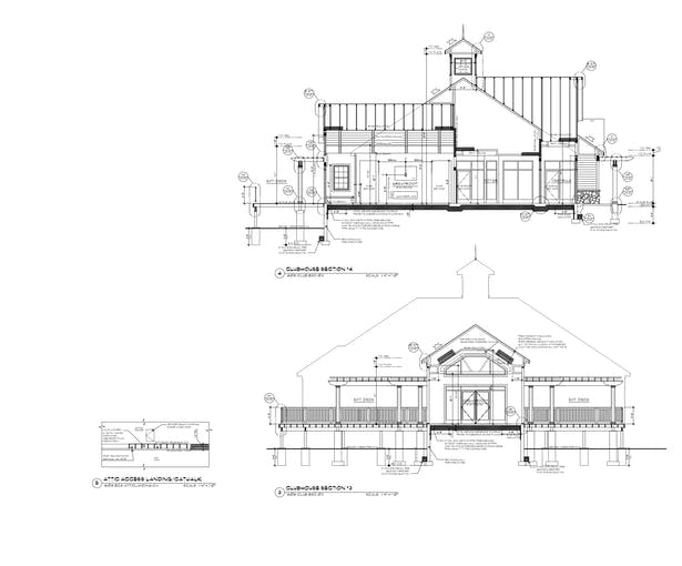 Clubhouse Sections