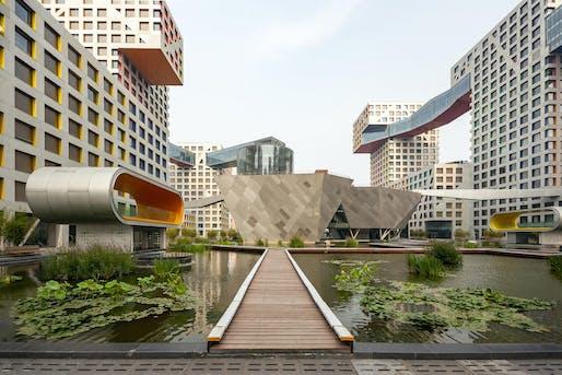 "Linked Hybrid by Steven Holl Architects. Photo: Wojtek Gurak/<a href=""https://www.flickr.com/photos/wojtekgurak/5177988110/in/photostream/"">Flickr</a> (CC BY-NC 2.0)"