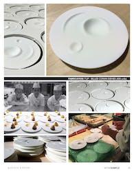Flip Milled Fine Dinning Dishware for Chef Daniel Boulud (2014-16)