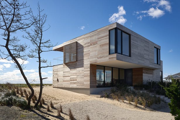 House On The Point Exterior
