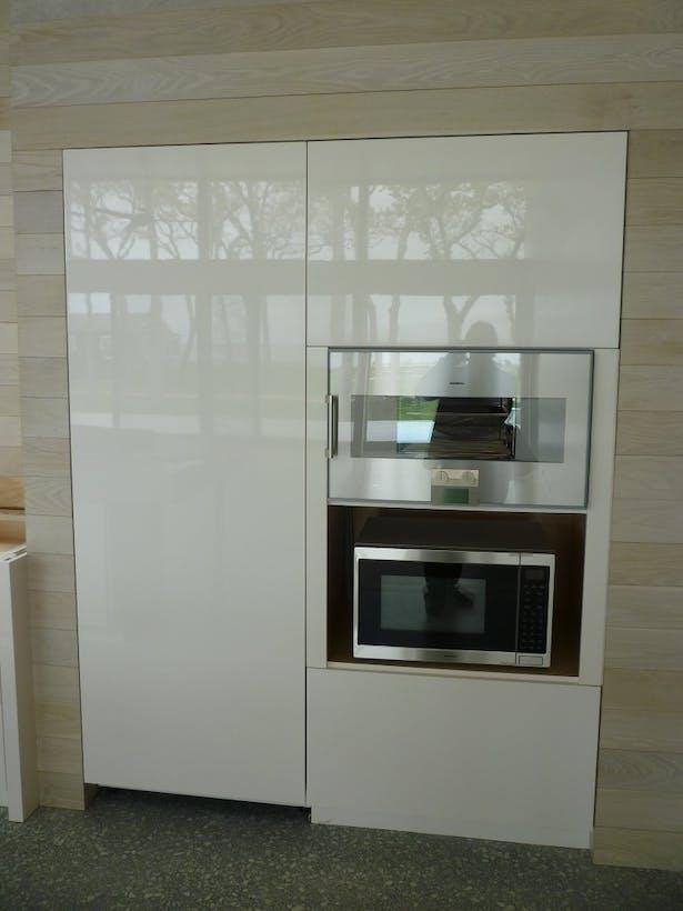 Main house custom polyurethane finished cabinetry S Donadic Inc