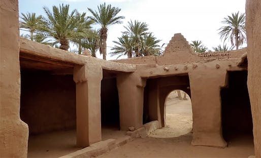 Philippe Rotthier Prize for 'The Reconstruction and Enhancement of the Local Heritage': M'Hamid Oasis © Terrachidia