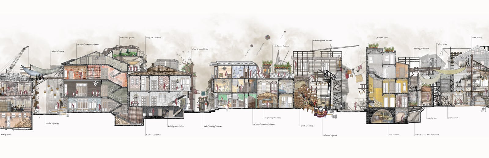 Curative Parasite March Urban Design Thesis Louisa