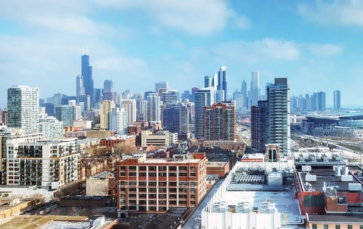 Chicago, Illinois. Image © Bill Dickinson