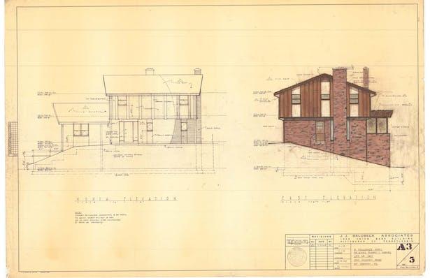 Original J.J. Balobeck drawings