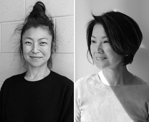 Shio Kusaka and Toshiko Mori will receive the 2021 Isamu Noguchi Award. Image courtesy of the Isamu Noguchi Foundation.