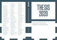 2020 Thesis Publication