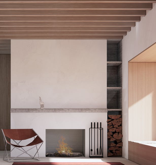 Pronghorn House (Rendering by Wittman Estes)