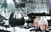 A Fountain and Vanna Venturi House; 1964 with Robert Venturi and Denise Scott Brown