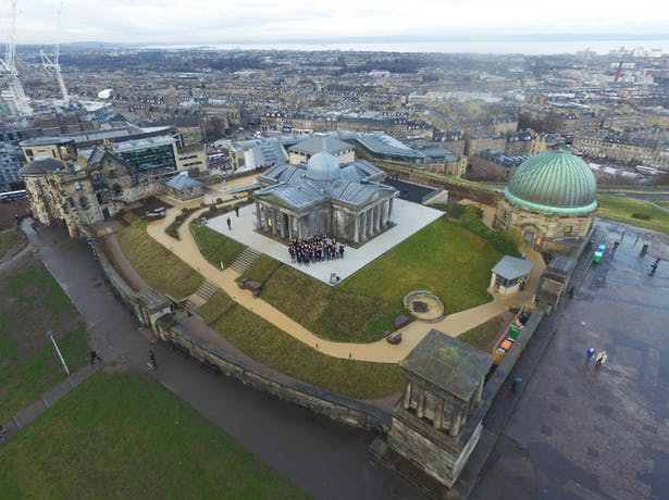Collective Architecture on Calton Hill (Photographer - Connor Milton)