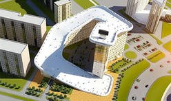 The ski-slope-on-top-of-a-building's-roof thing may be coming to Kazakhstan