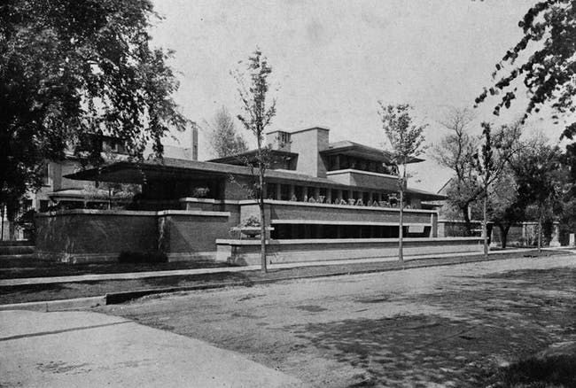 The Robie House in Chicago. Credit: Wikipedia