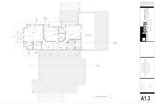 2nd Floor - Synergy Architect + Planning