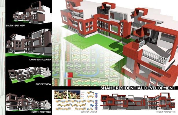 Low-rise residential development, Beijing