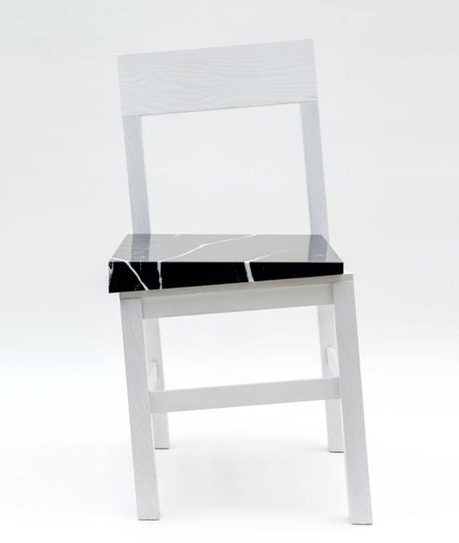 Slip Chair by Snarkitecture. Image: Snarkitecture.